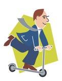 官员滑行车 皇族释放例证