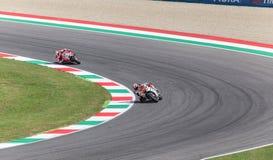 官员的杜卡迪MotoGP安德里亚Dovizioso 免版税库存照片