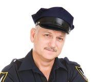 官员警察纵向 免版税库存图片