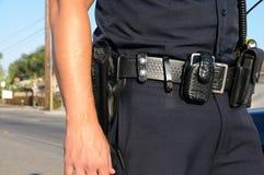 官员警察 免版税图库摄影