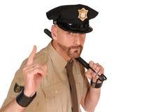 官员警察 免版税库存图片