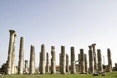 宙斯寺庙,在Uzuncaburc Olba, Mersin -土耳其 库存图片