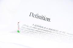 定义文本焦点词背景 库存图片