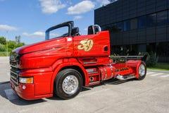 定制的卡车斯科讷R999 免版税图库摄影