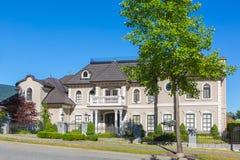 定制的房子 免版税库存图片