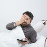 定期的睡眠醒 免版税库存照片