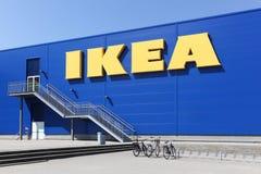 宜家商店在丹麦 库存照片