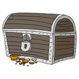 宝物箱 免版税库存照片