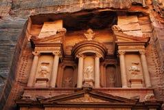 财宝的细节, Petra 免版税库存照片