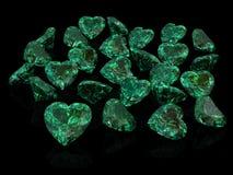 绿宝石 皇族释放例证