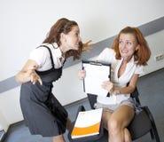 实习教师 免版税库存图片