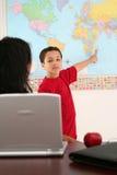实习教师 免版税库存照片