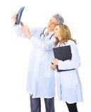实习生的专业培训的医生 免版税图库摄影