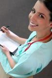 实习的护士 库存图片