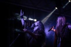 实况Arkona专辑第15个周年展示在Insubria节日 库存照片