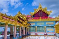 实皆塔缅甸 免版税图库摄影