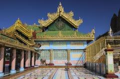 实皆,缅甸- 2016年12月08日:很快Oo Pon Nya Shin pagod 免版税库存图片
