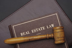 实际庄园的法律 免版税库存照片