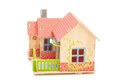 实际概念的庄园 白色的木房子 图库摄影