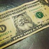 实际的货币 图库摄影