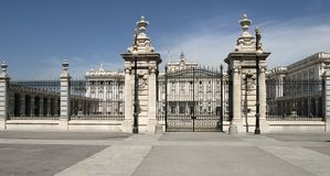 实际的palacio 免版税库存图片