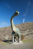 实际缩放比例恐龙 免版税库存照片