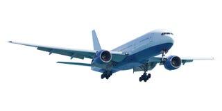 实际航空器的喷气机 免版税库存照片