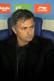 实际jose ・马德里的mourinho 库存照片