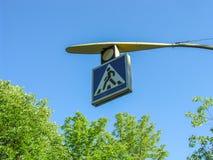 实验交通信号 库存图片