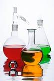 实验室器物 免版税库存图片