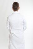 实验室外套的人 免版税库存照片