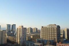 实验室大厦在北京 免版税库存照片