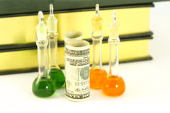 实验室有益的研究 免版税库存图片