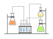 实验室概念 库存图片