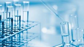 实验室研究与开发概念 免版税库存照片