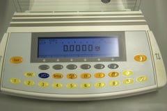 实验室规模 免版税库存图片