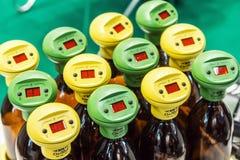实验室设备和化学制品R的国际陈列 免版税库存图片