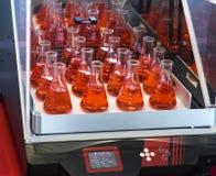 实验室试验管振动器 免版税库存图片