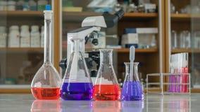 实验室试验管 免版税库存照片