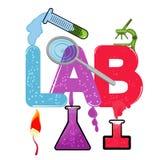 实验室 向量例证