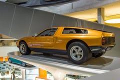 实验汽车奔驰车C111-II, 1970年 免版税库存图片