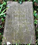 宠爱` s公墓,特伦,南艾尔郡 免版税库存图片