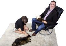宠物收养 免版税库存图片