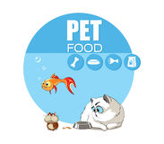 宠物食品 免版税库存图片