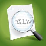 审查的税法 免版税库存图片