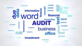 审计企业商人词财务金融投资信息管理交付文本给词云彩赋予生命 皇族释放例证