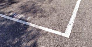 客人停车处 免版税图库摄影