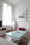 客厅内部装饰业 免版税库存图片