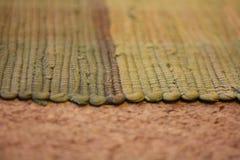 客厅地毯 库存图片