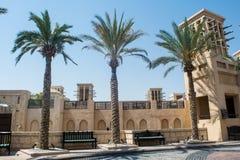客厅大厦位于豪华阿拉伯沙漠依靠 免版税库存照片